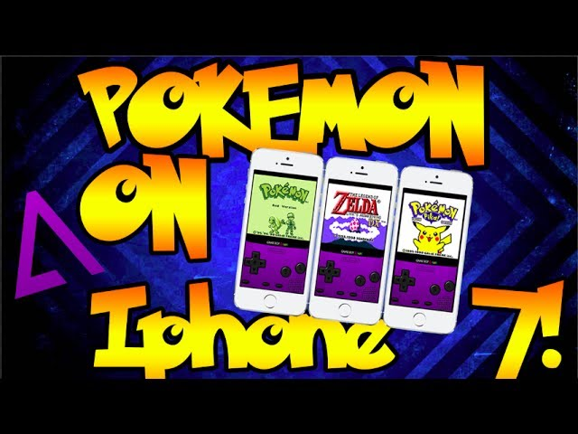 How To Play Pokemon Games on iPhone 7 IOS 10.3.2 (July)