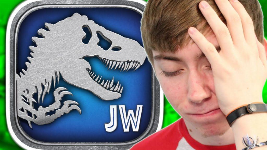 JURASSIC WORLD: THE GAME (iPhone Gameplay Video)