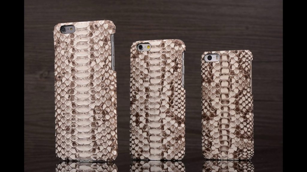 Genuine PU Leather Cover for Apple iPhone Models