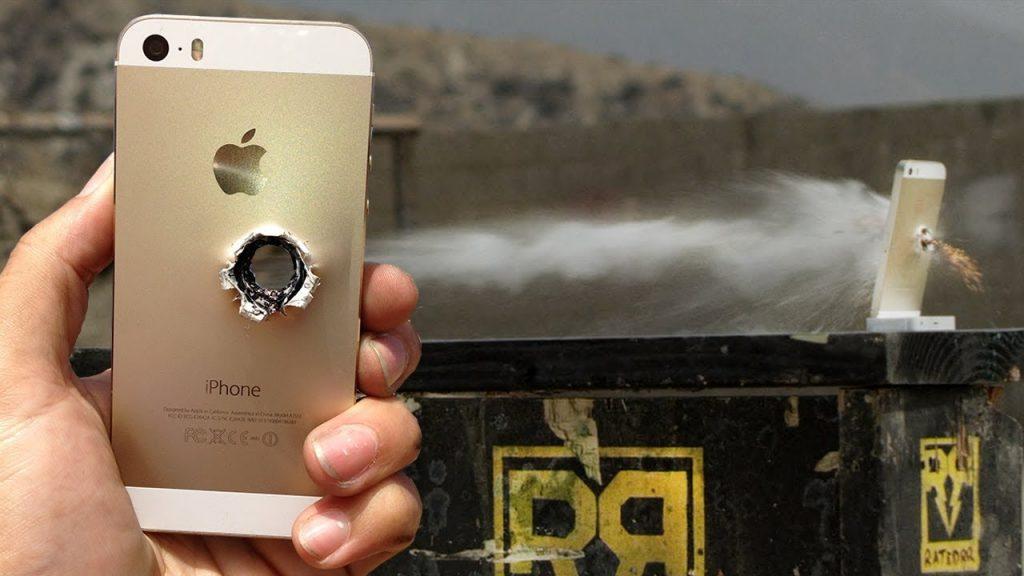 iPhone 5s vs 50 cal – RatedRR Slow-Mo Torture Test