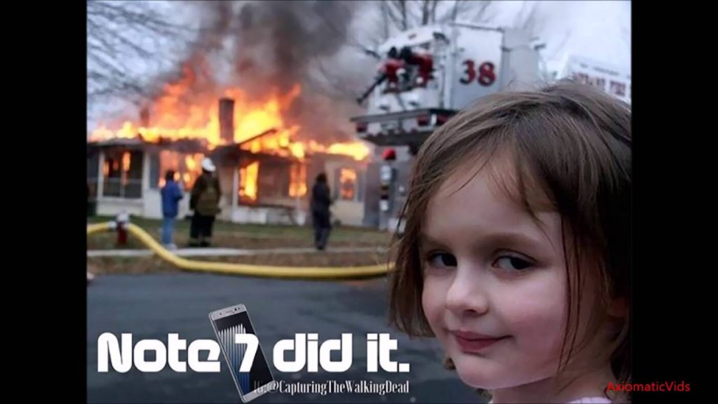 THE GREATEST SAMSUNG GALAXY NOTE 7 EXPLODING RECALL MEME TRIBUTE VIDEO EVER!!