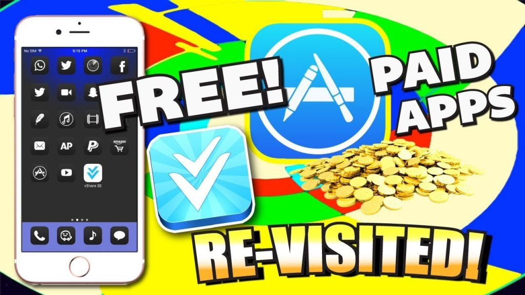 Get Paid Apps FOR FREE + HACKED Games on iOS 10/11/ 9 – NO JAILBREAK (on iPhone, iPad, iPod) VShare