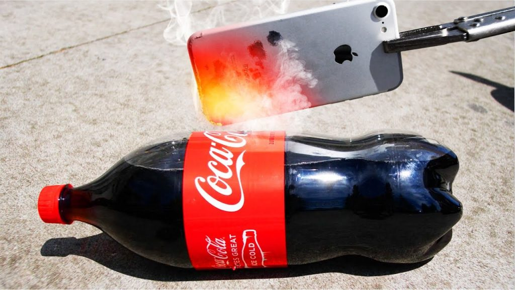 Glowing 1000 Degree iPhone 7 vs Coke, Fireworks, and more!