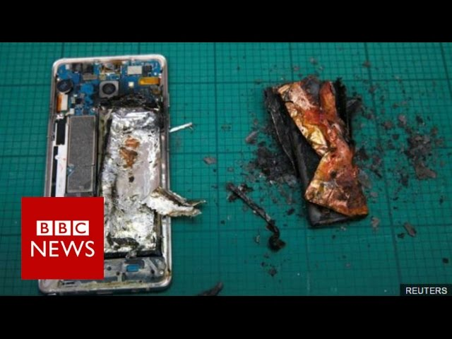 Samsung permanently stops Galaxy Note 7 production – BBC News