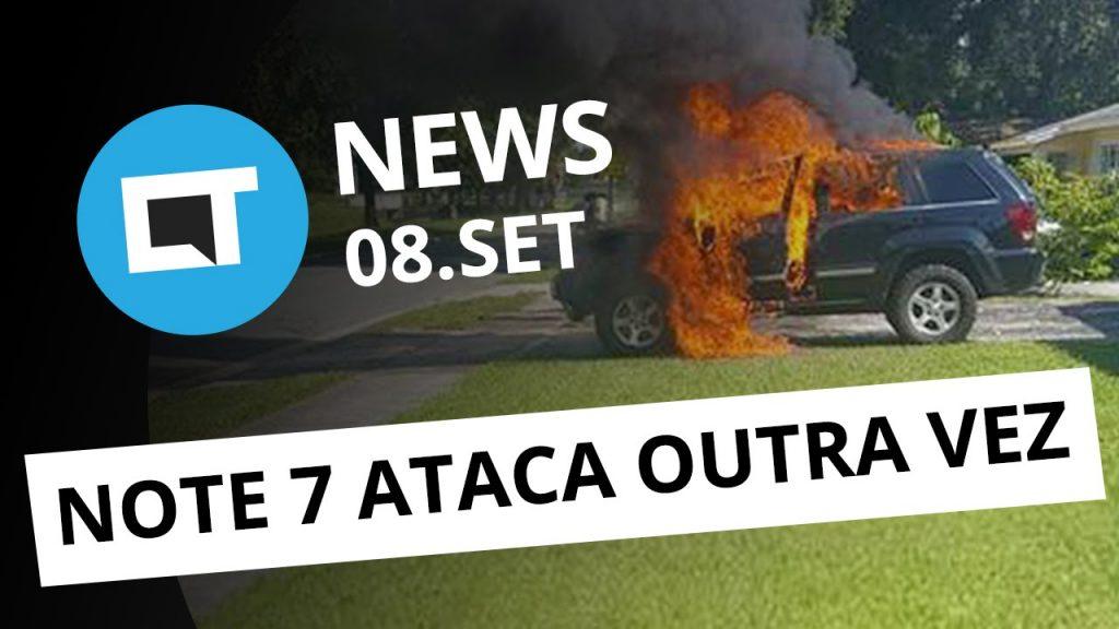 iPhone 7 no Brasil, mais explosões do Note 7, hipocondríacos e Internet [CT News]
