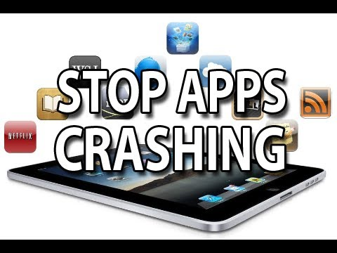Stop Apps Crashing! iPhone, iPad, iPod Touch [Prevent apps crashing]