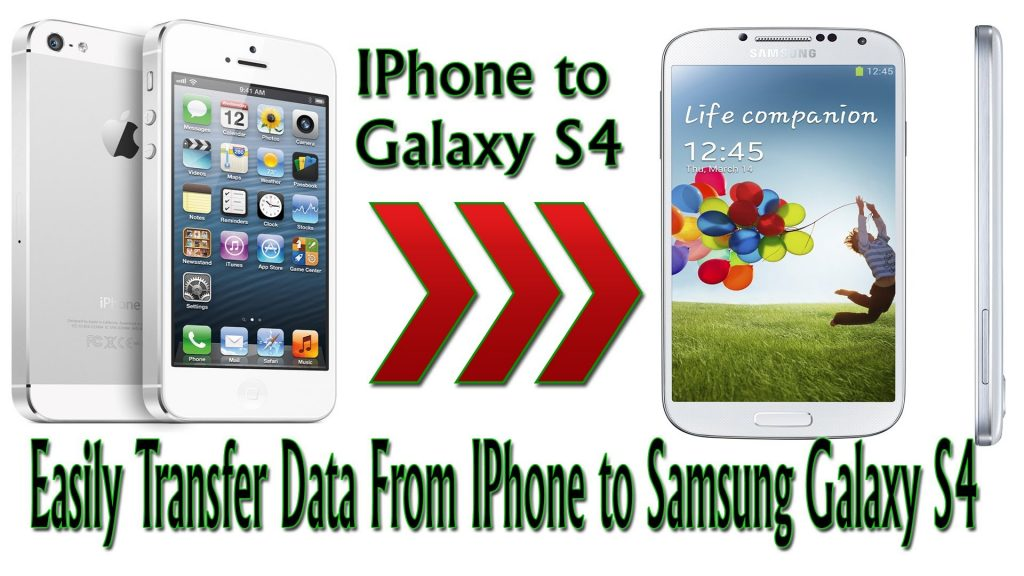 iPhone to Galaxy S4 How to Transfer Files From iPhone to Samsung Galaxy With Samsung Smart Switch