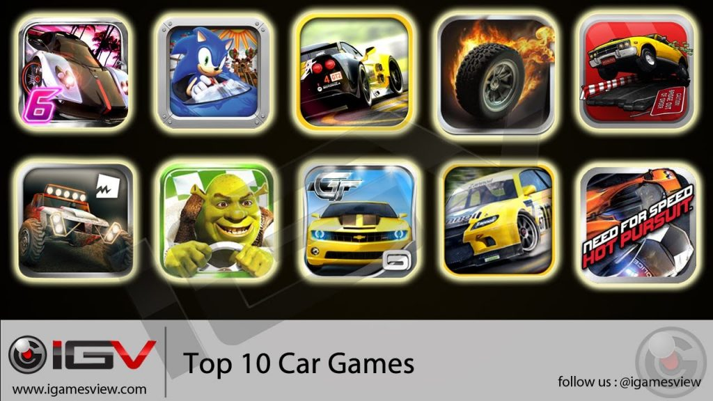 Top 10 Car Games For iPhone, iPod Touch and iPad