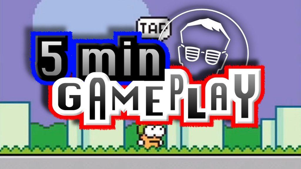 5 min GAMEPLAY – SWING COPTERS – iOS | german/deutsch | best iPhone Games