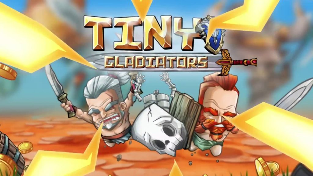 Tiny Gladiators by BoomBit Games | iOS App (iPhone, iPad) | Android Video Gameplay‬