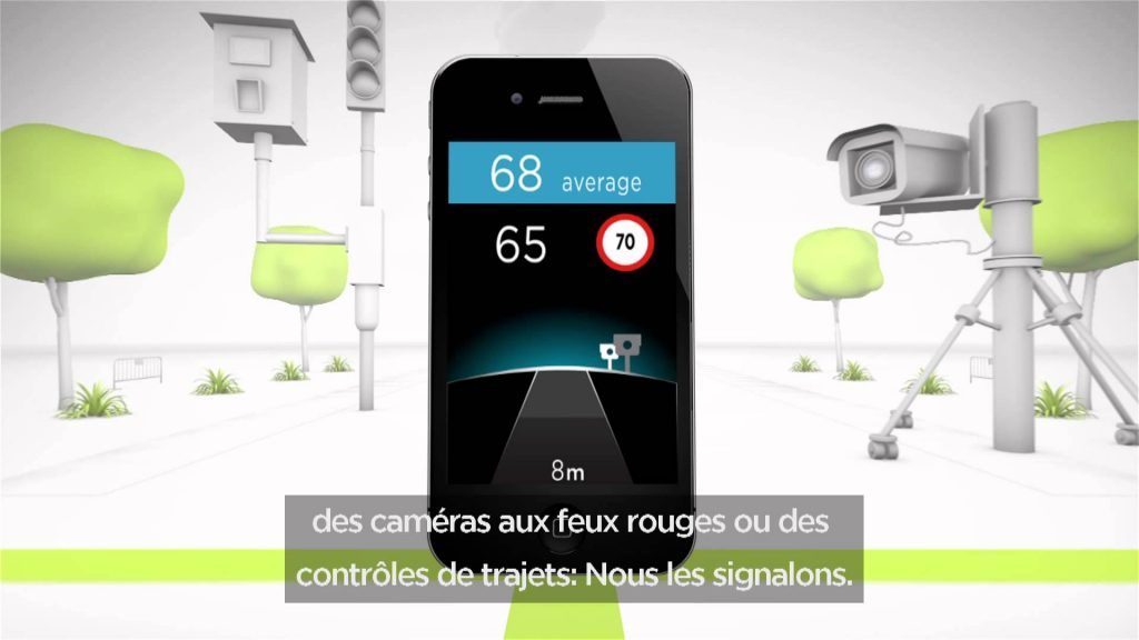 TomTom Speed Cameras app for iPhone