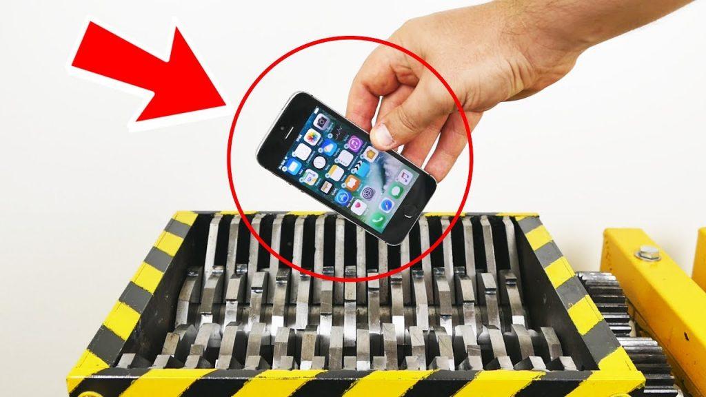 Shredding iPhone 8 ?