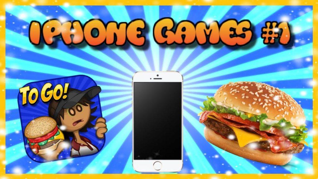 iphone Games #1  Papa's Burgeria