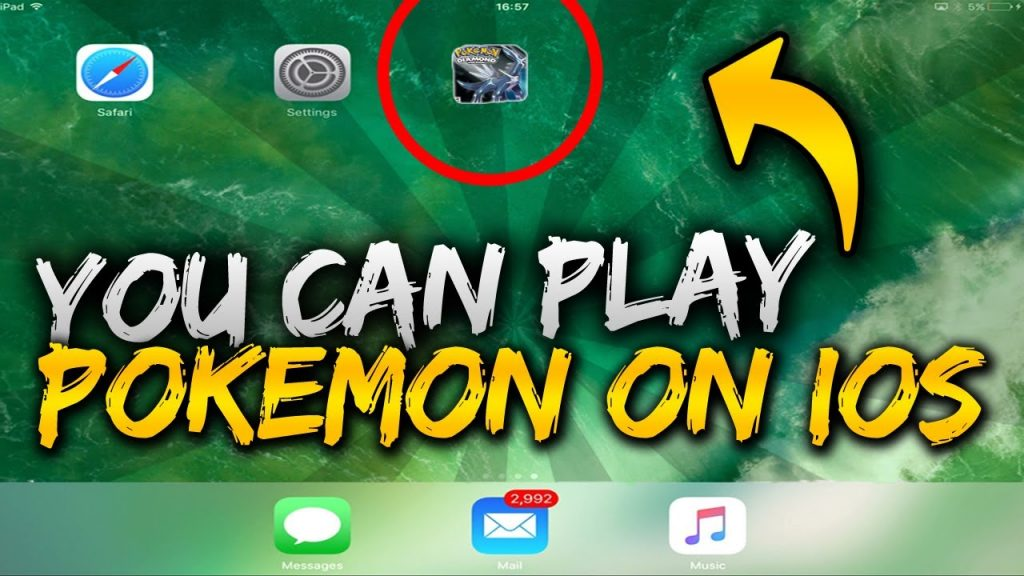 HOW TO GET THE OLD POKEMON GAMES ON YOUR IPHONE! (JUNE 2017) *EASY – FREE*
