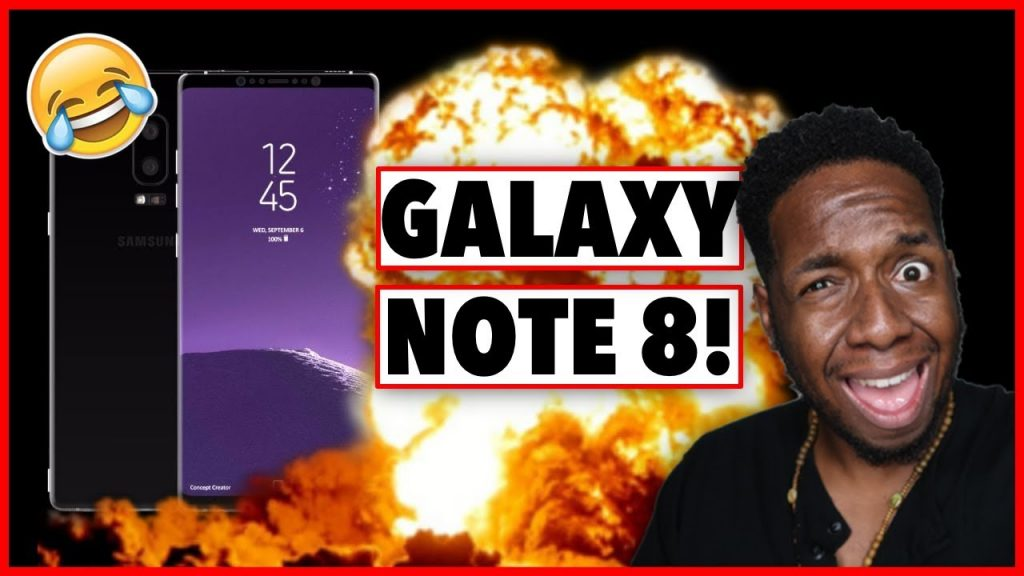 Does the Samsung Galaxy Note 8 EXPLODE?!? | @JamesJeffersonJ
