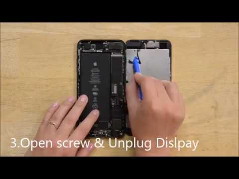 HOW TO OPEN IPHONE 7 PLUS AND HARDWARE REPAIRING