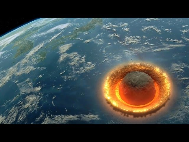 Discovery Channel – Large Asteroid Impact Simulation