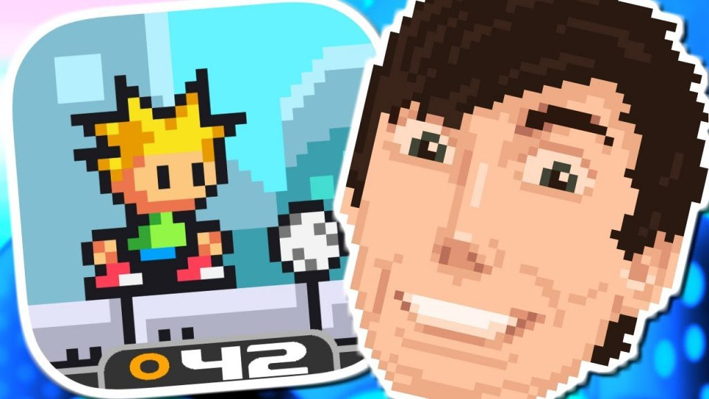 I'M IN A VIDEO GAME! | Footy Golf (iPhone Gameplay Video)