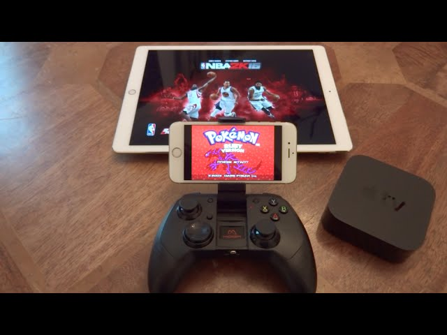 NEW MOGA Rebel Best Gaming Controller For iOS 9 / 10 / 11 iPhone, iPad, iPod Touch & Apple TV 4
