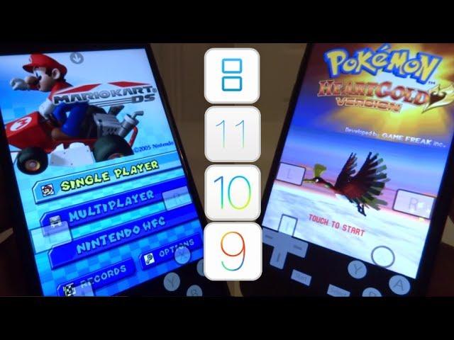 NEW Install Nintendo DS & Games FREE iOS 10 – 10.3.3 / 11 NO Jailbreak NO Computer iPhone iPad iPod