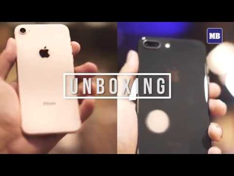 Unboxing iPhone 8 and 8 Plus