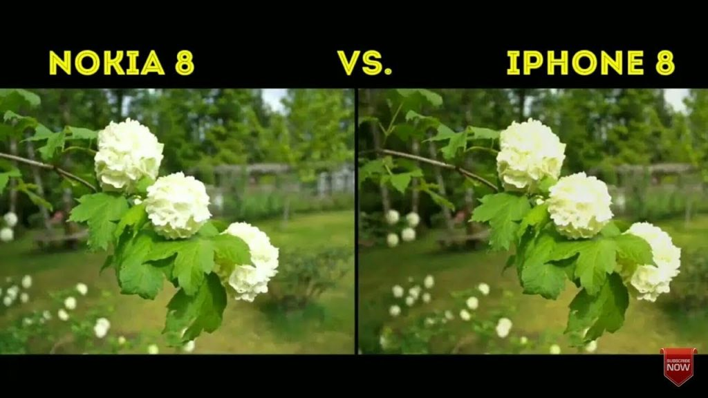 Nokia 8 vs  iPhone 8 camera comparison in details camera sample