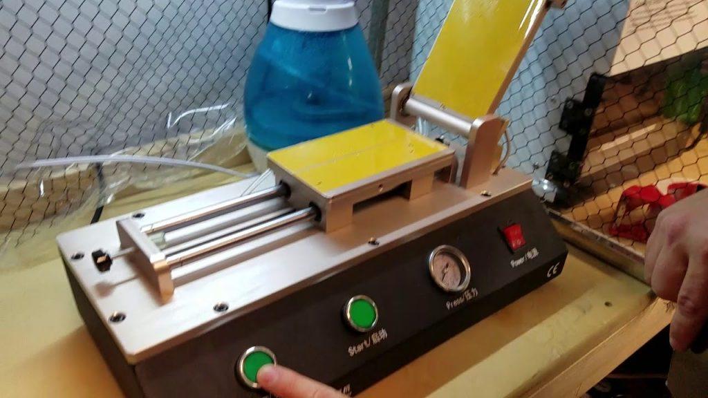POLARIZER/OCA VACUUM LAMINATING MACHINE SET-UP & SETTINGS
