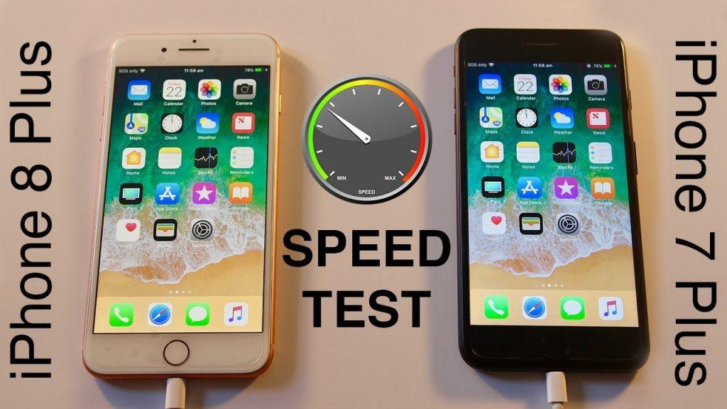 iPhone 8 Plus vs iPhone 7 Plus SPEED TEST!