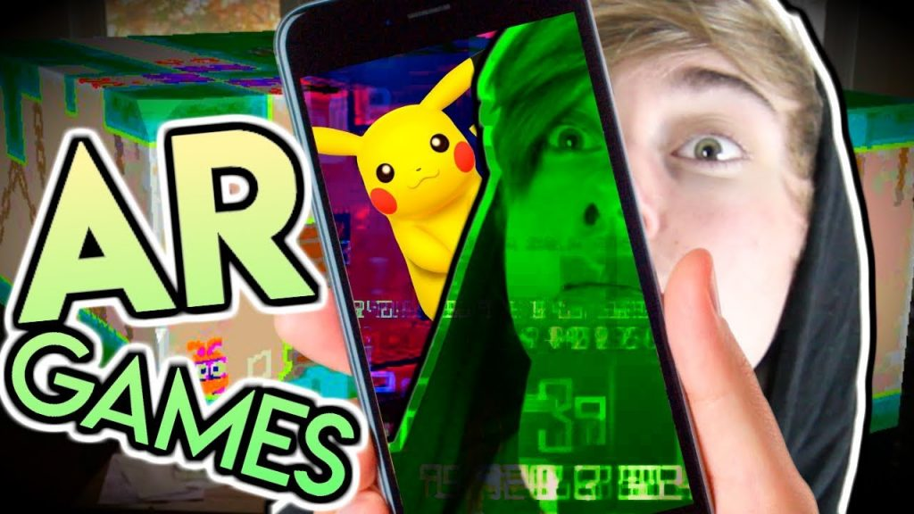 NEW iPHONE AR GAMES! (Stack AR, Flat Pack, Zombie Gunship Revenant AR)