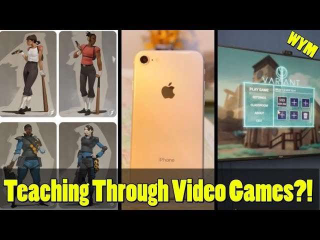 Video Games Teaching Students, TF2 Originally Had Female Characters,  Iphone 8 Vs PS4