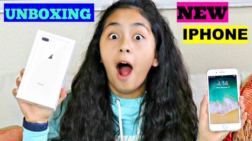 Unboxing 📱NEW GOLD IPHONE 8 PLUS!!!B2cutecupcakes