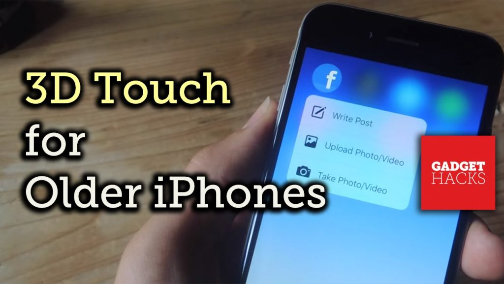 Get '3D Touch' on Older iPhones to Use Quick Actions on the Home Screen [How-To]
