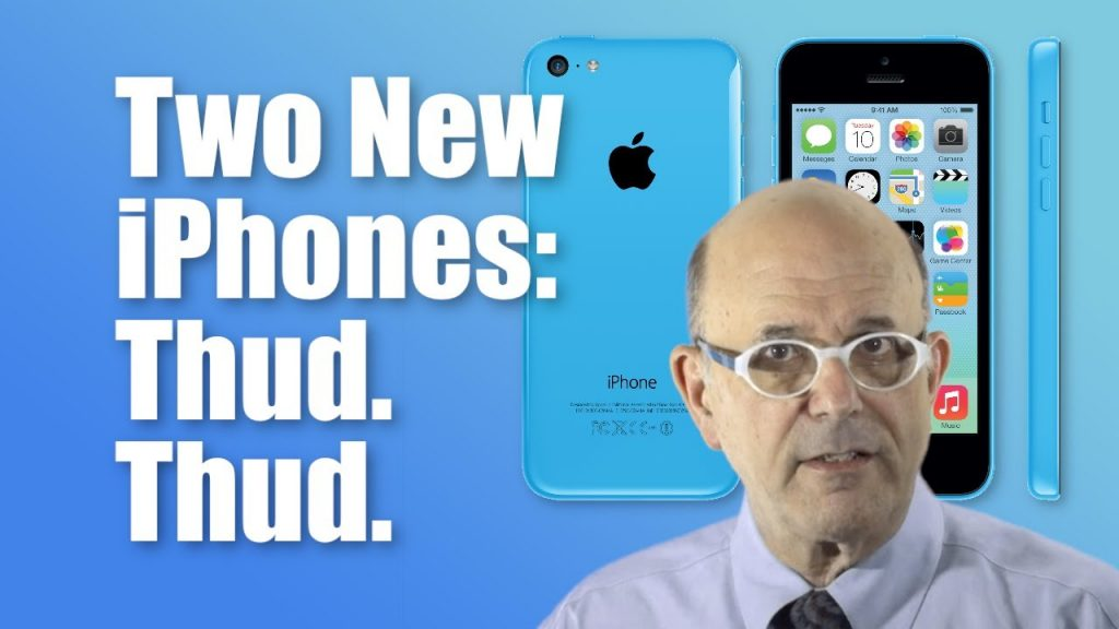 Two New iPhones: Thud. Thud.