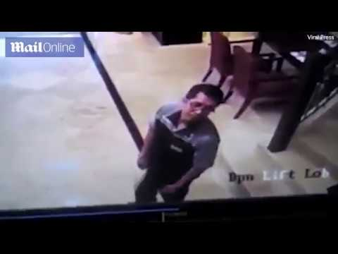 Terrifying moment IPhone 8 explodes in man's pocket