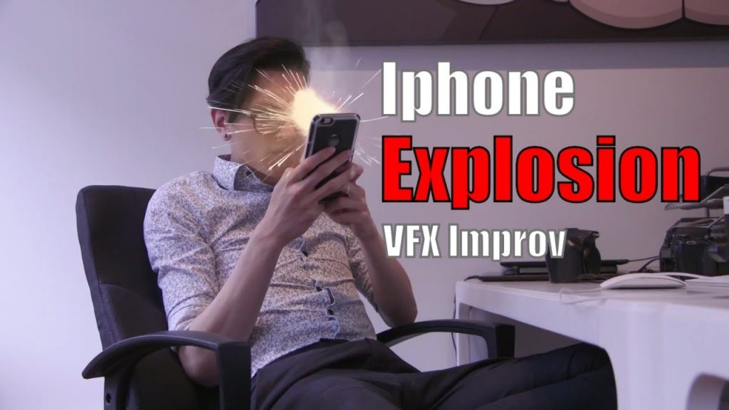 Exploding Iphone – VFX Improv Video