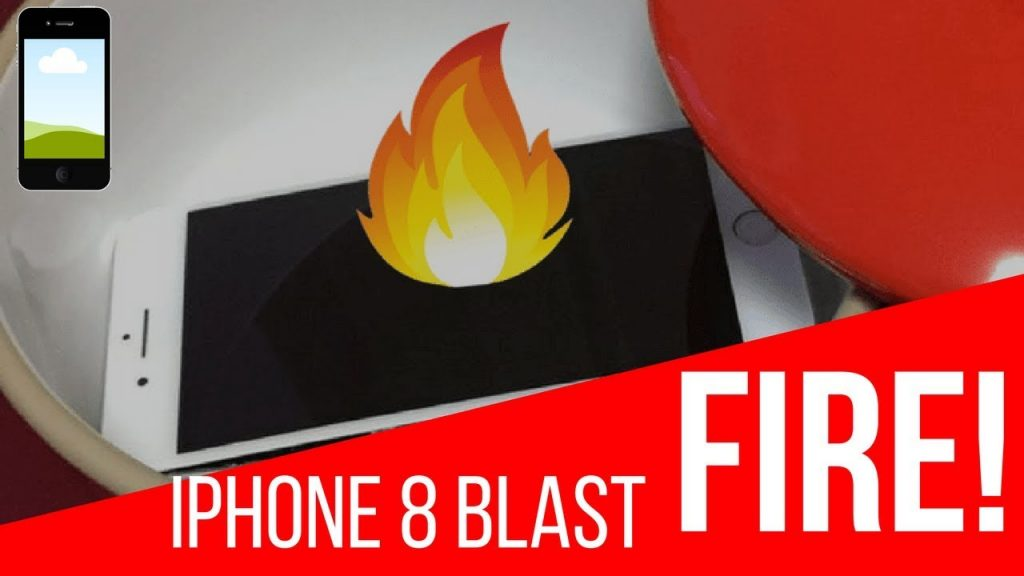 Shocking! iPhone 8+ Blasts when Charging – iPhone 8 Plus Explodes – Battery was Swollen,Screen Split