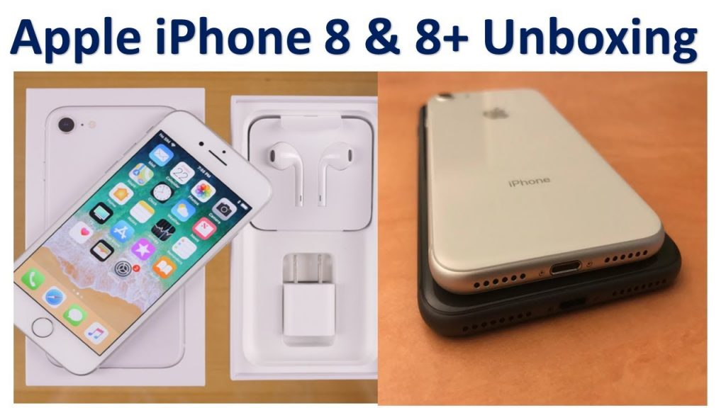 Unboxing the New Apple iPhone 8 and the Apple iPhone 8+ | TechNpel | Tech Npel | iphone 8 Smartphone