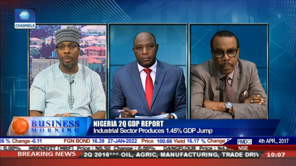Examining Nigeria's 2Q GDP Report With NBS CEO,Bismarck Pt.1 |Business Morning|