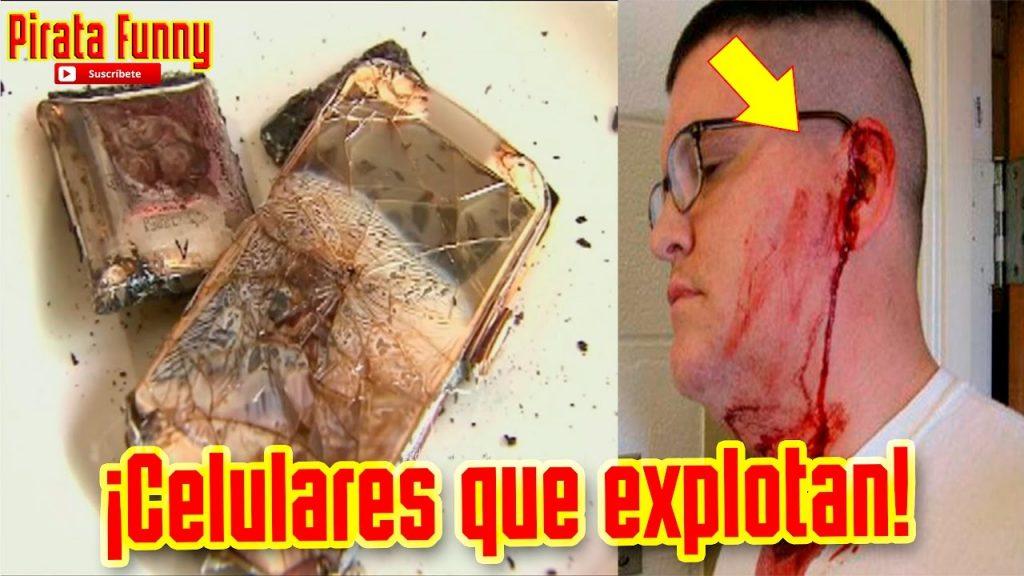 Recopilación de celulares que explotan | Cell Phone Explosion Compilation