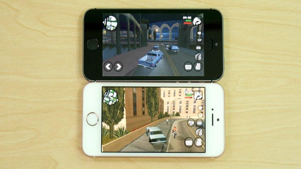 iPhone 5S vs iPhone SE iOS 10.2 Gaming!