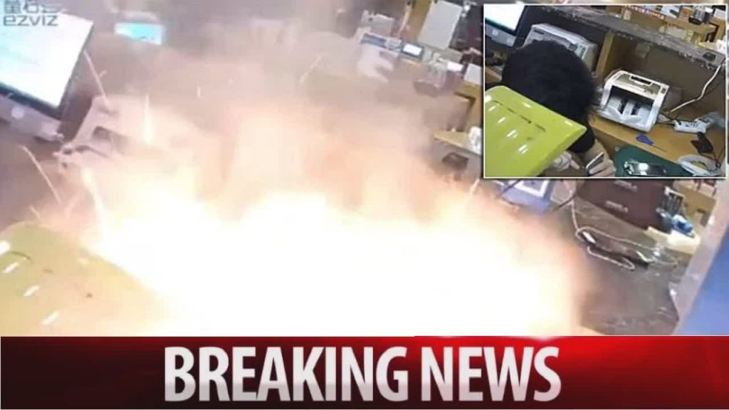 'iPhone explodes' as Chinese worker opens the case closely