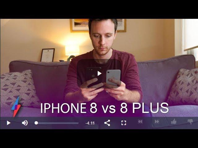 Best iPhone 2017 – iPhone 8 VS iPhone 8 Plus