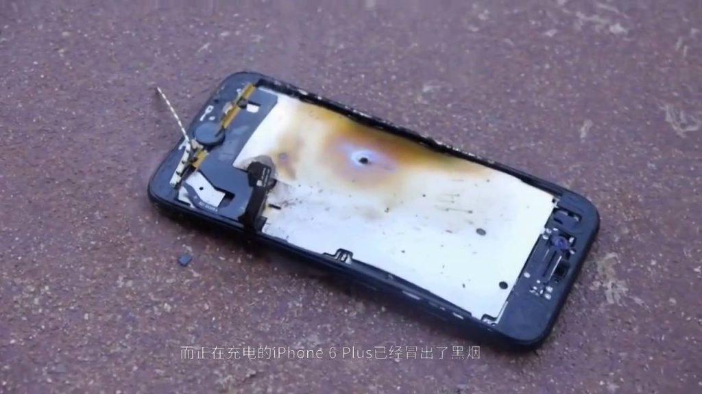 iPhone 7 Chinese version exploded users get injured iPhone7被爆国内首炸:手机崩成两半,用户受伤