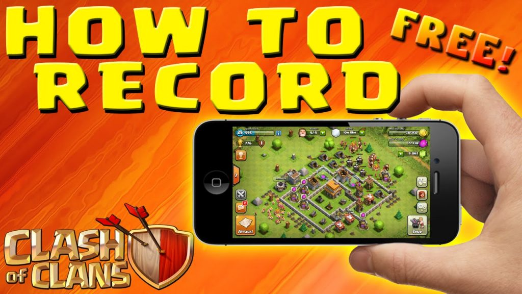 Clash of Clans- HOW TO RECORD iPOD, iPAD, iPHONE GAMEPLAY – No Jailbreak & FREE!