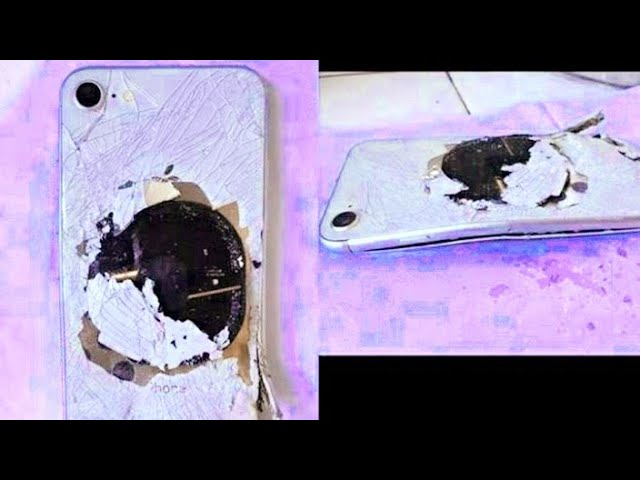 iPhone 8 Battery Exploding?? (1 of 7 dailies)