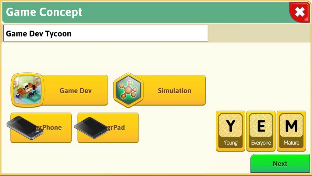 Game Dev Tycoon [iPhone, iPad, Android Teaser]