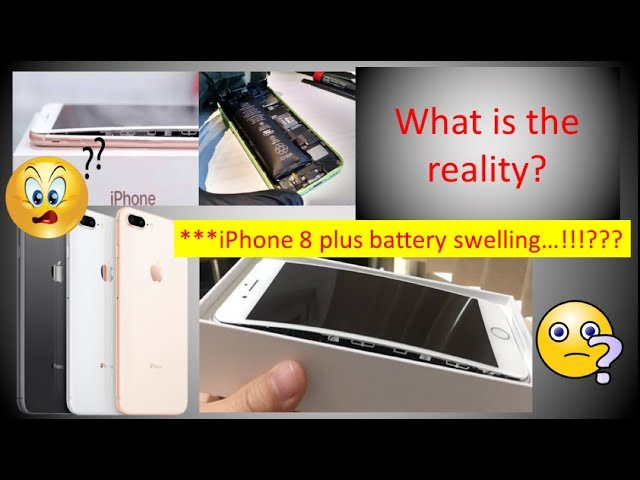 iPhone 8 Plus Battery Swelling | Difference between swelling and exploding/catching fire?