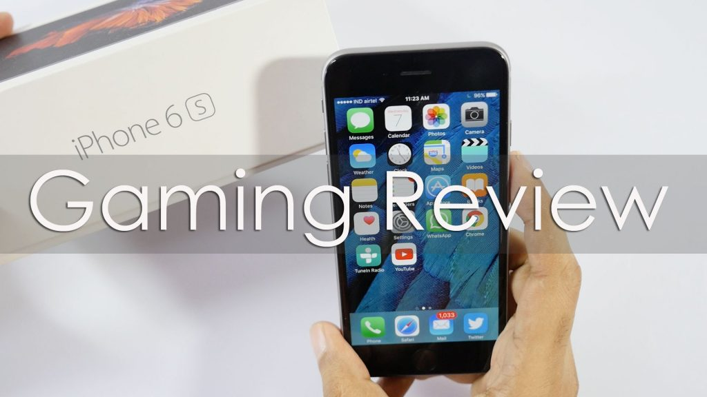 iPhone 6s Gaming Review with lots of Games