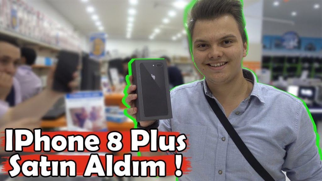 GECE 12'DE IPHONE 8 PLUS SATIN ALDIM !