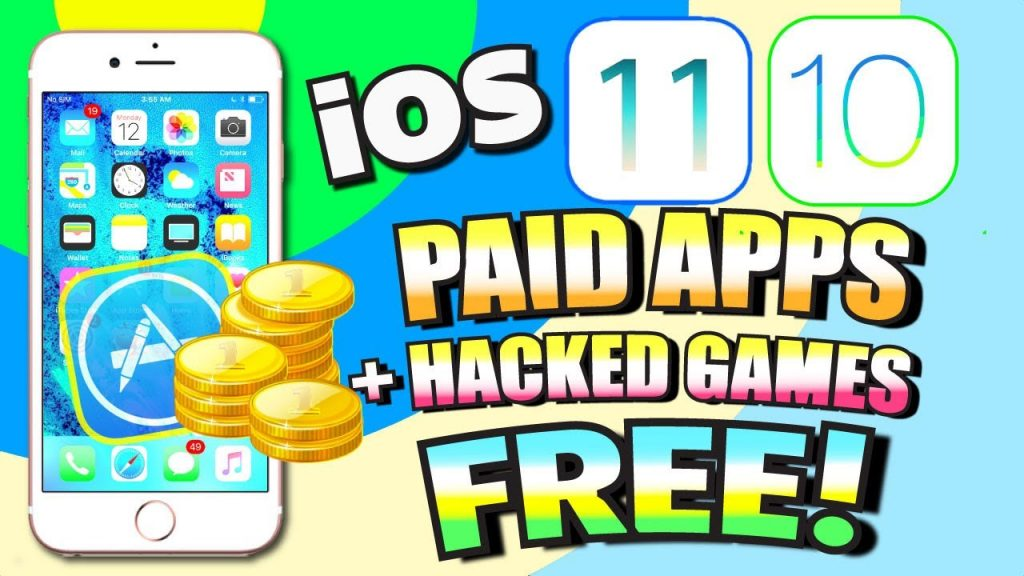 Get PAID Apps for FREE + HACKED Games iOS 11/10 (NO JAILBREAK) (NO COMPUTER) – 3 WAYS!!!